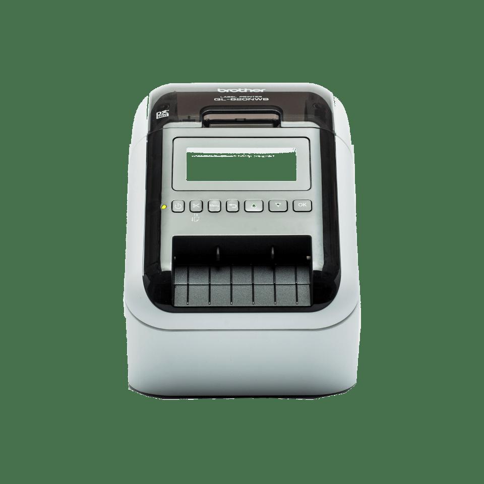Impresora de Etiquetas WiFi y Bluetooth MFi QL-820NW, Brother