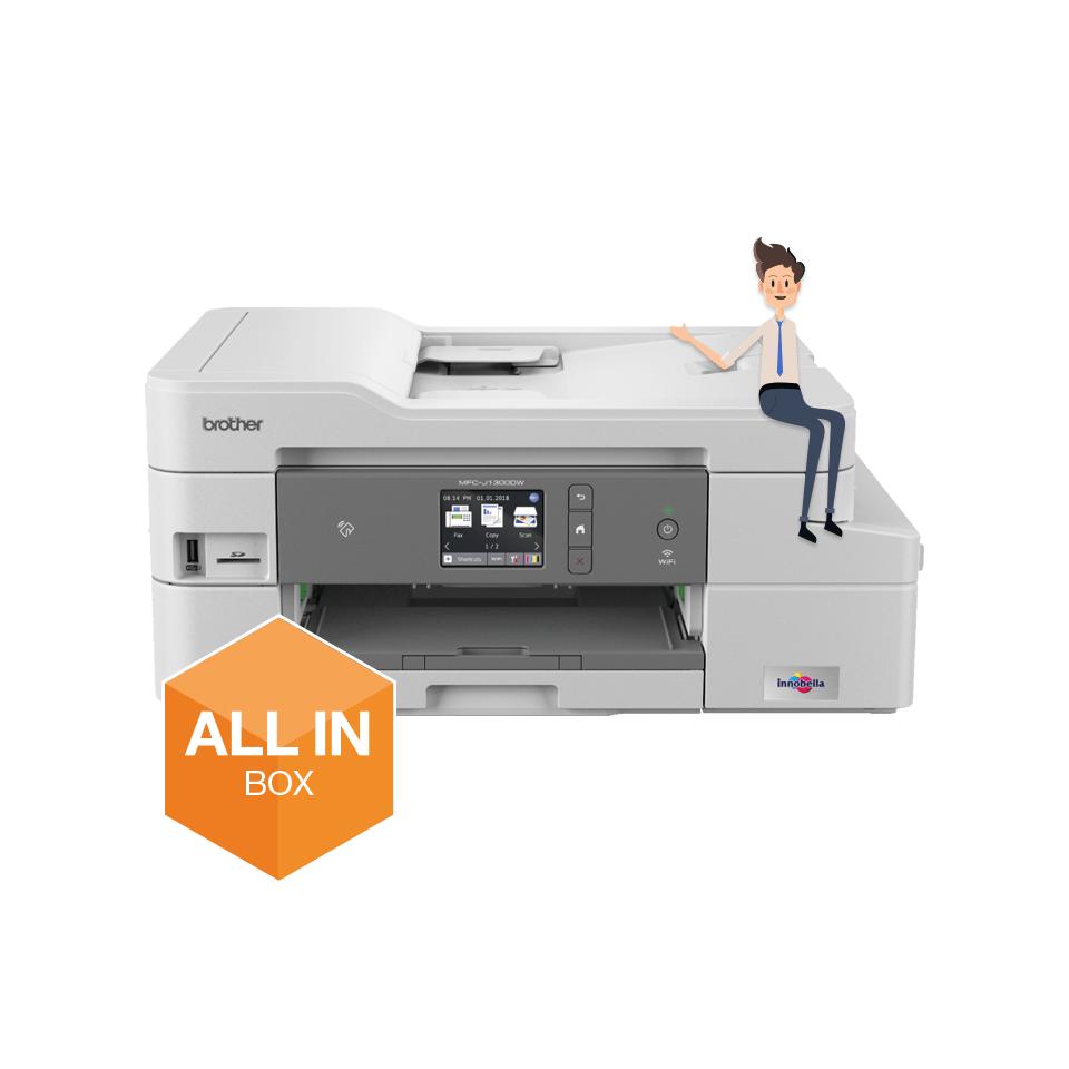 Impresora multifunción tinta MFCJ1300DW, Brother