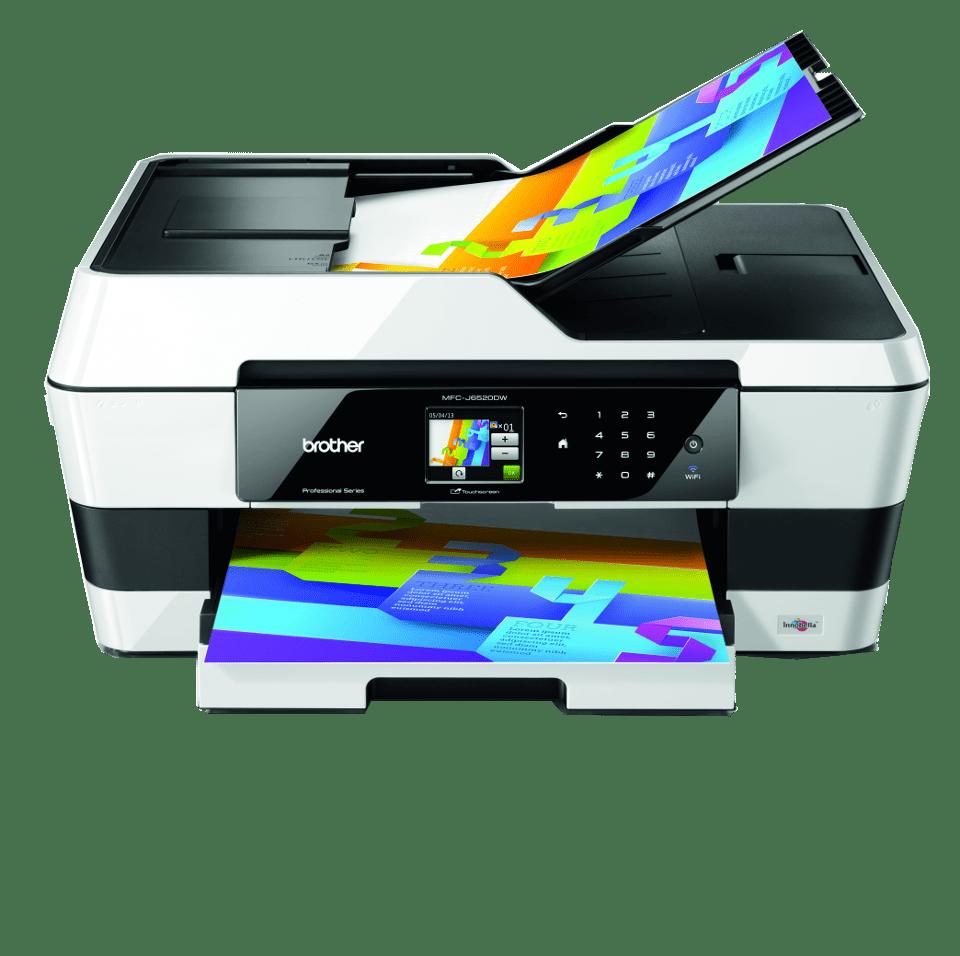 Impresora Multifunci 243 N Formatos A4 Y A3 Mfc J6520dw Brother