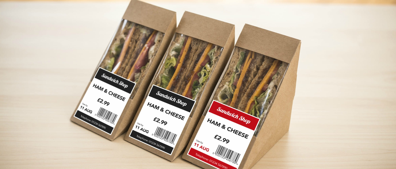 Tres sandwiches embasados