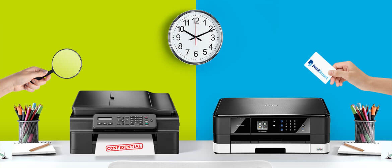 Impresoras Brother con funciones de seguridad
