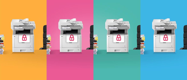 4 pasos sencillos para proteger tus datos impresos con Brother