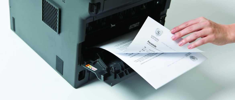 Impresión de folios en impresora Brother