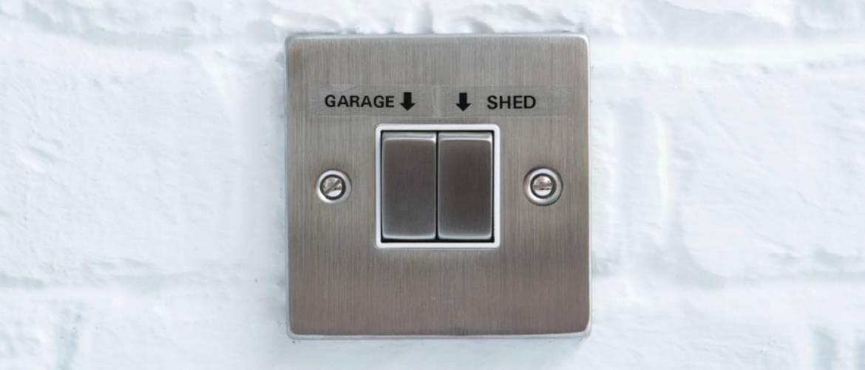 Interruptores etiquetados