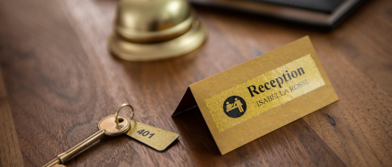Soluciones Brother de etiquetado para hoteles