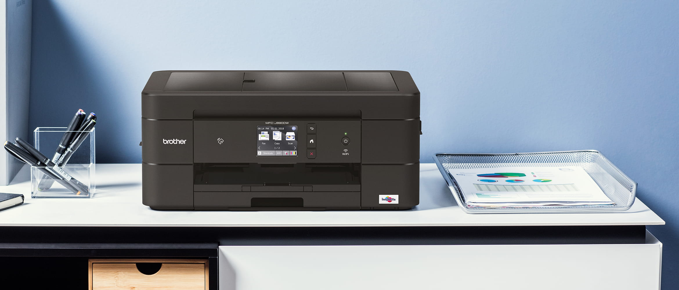 Impresora multifunción tinta MFC-J890DW de Brother