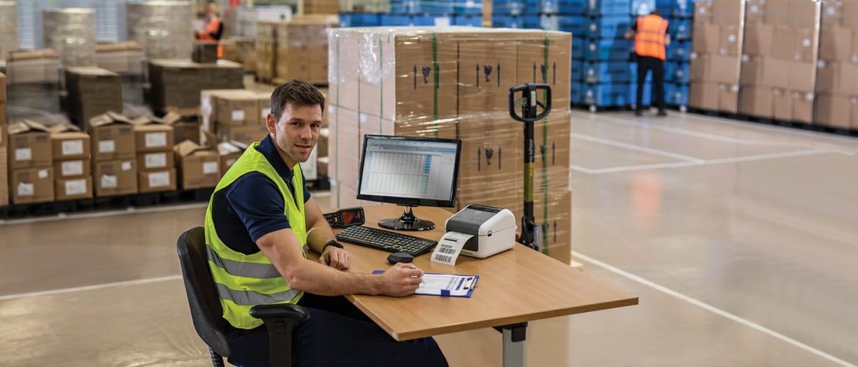 Soluciones de impresión, escaneado y etiquetado Brother para la gestión de almacenes