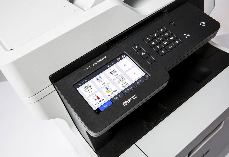 Impresora con función impresión segura Brother