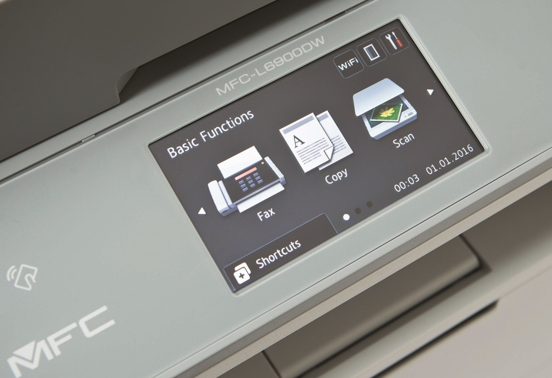 Pantalla de impresora multifunción láser MFC-L6900DW Brother