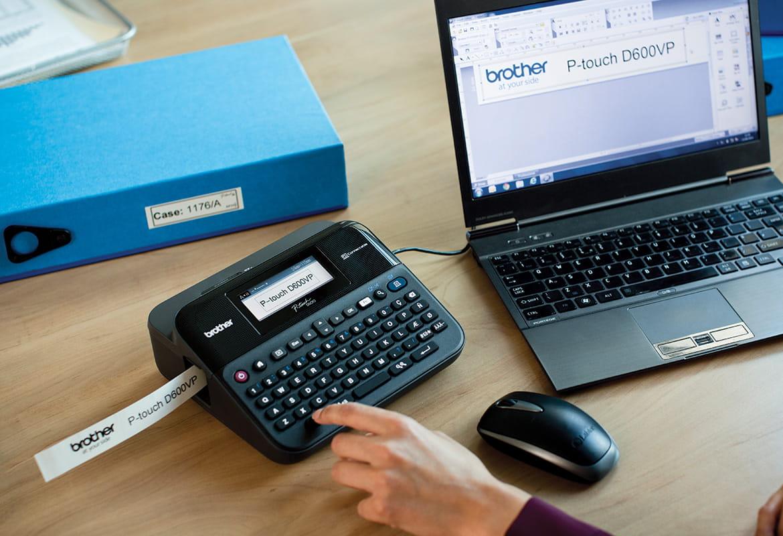 Impresora de etiquetas PT-D600VP Brother