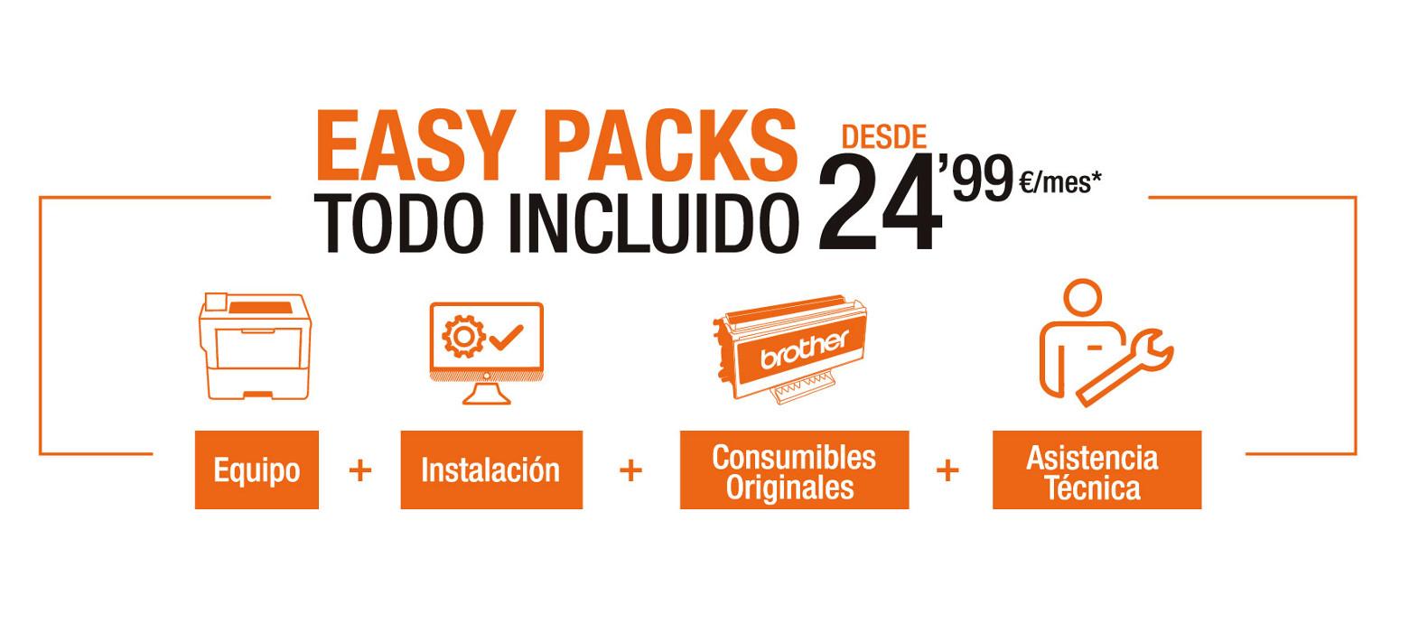 Easy Packs todo incluido desde 24,99€/mes*