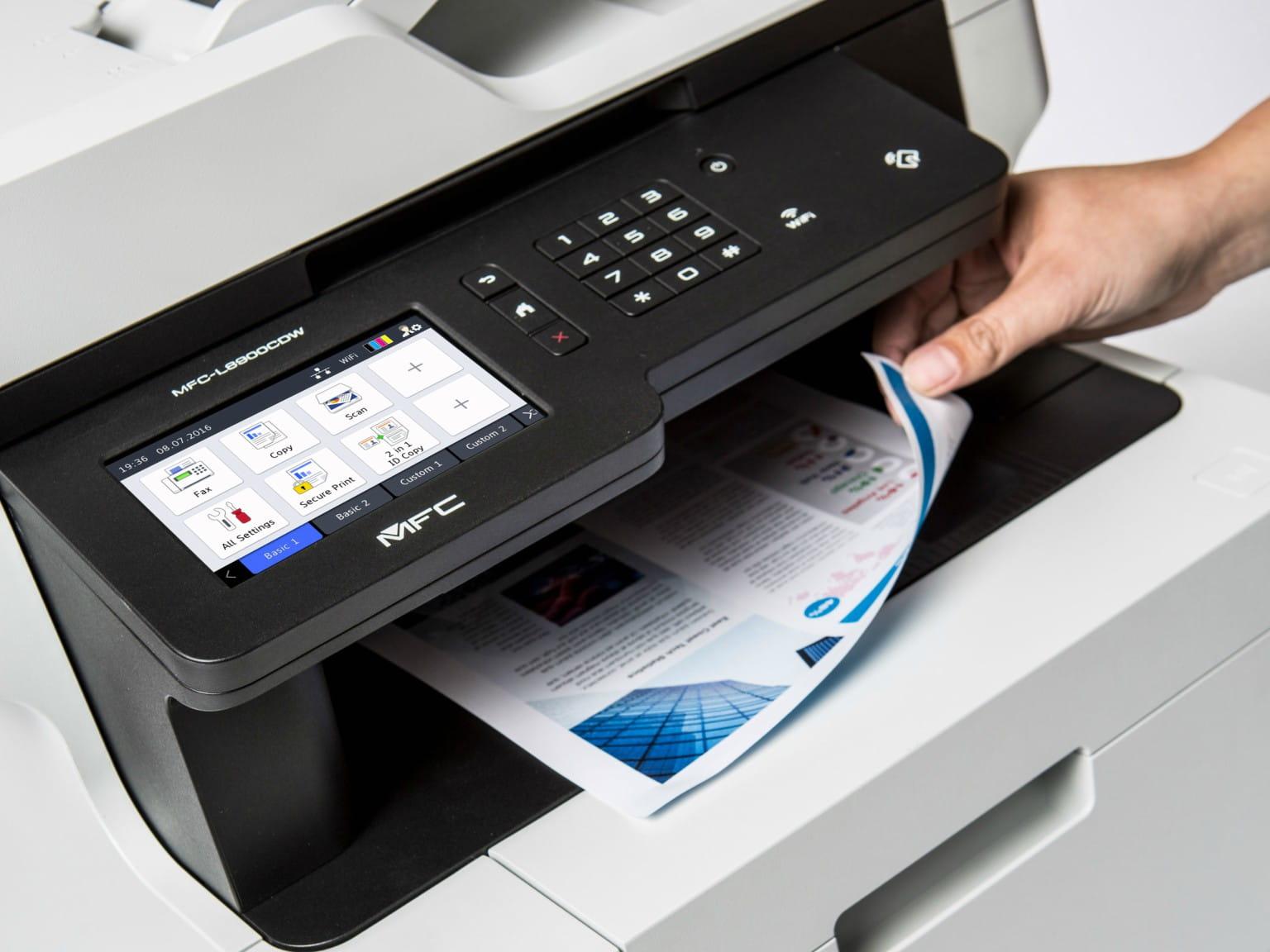 Impresora multifunción láser MFC-L8900DW Brother