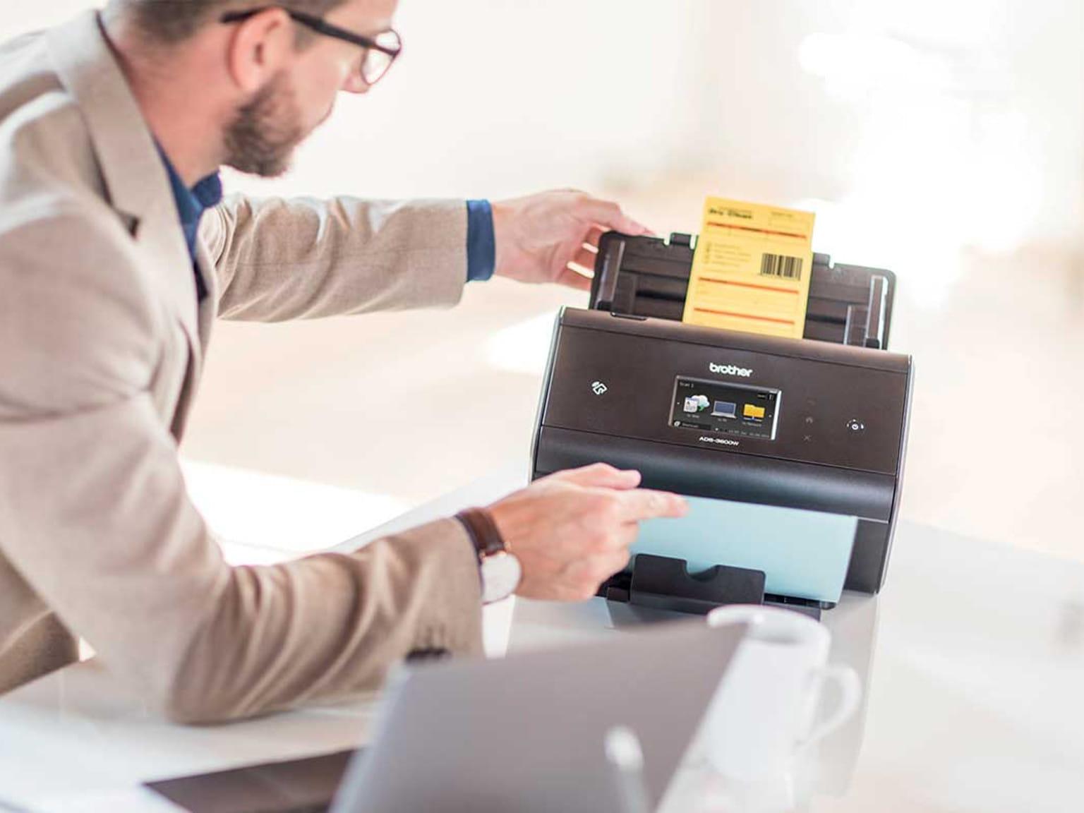 Escáner con Barcode Utility