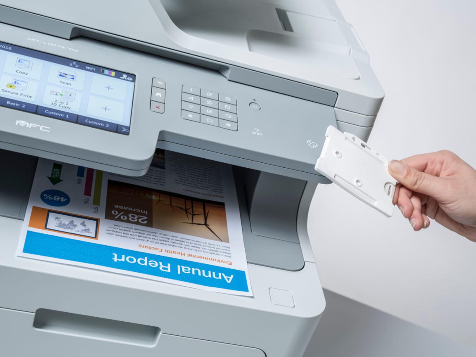 Impresora láser MFC-L9570CDW con SecurePrint