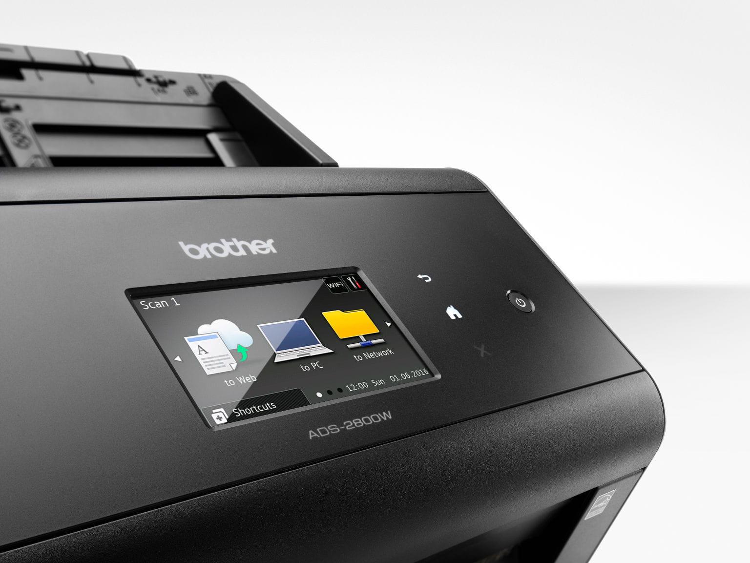 Escáner ADS-2800W Brother