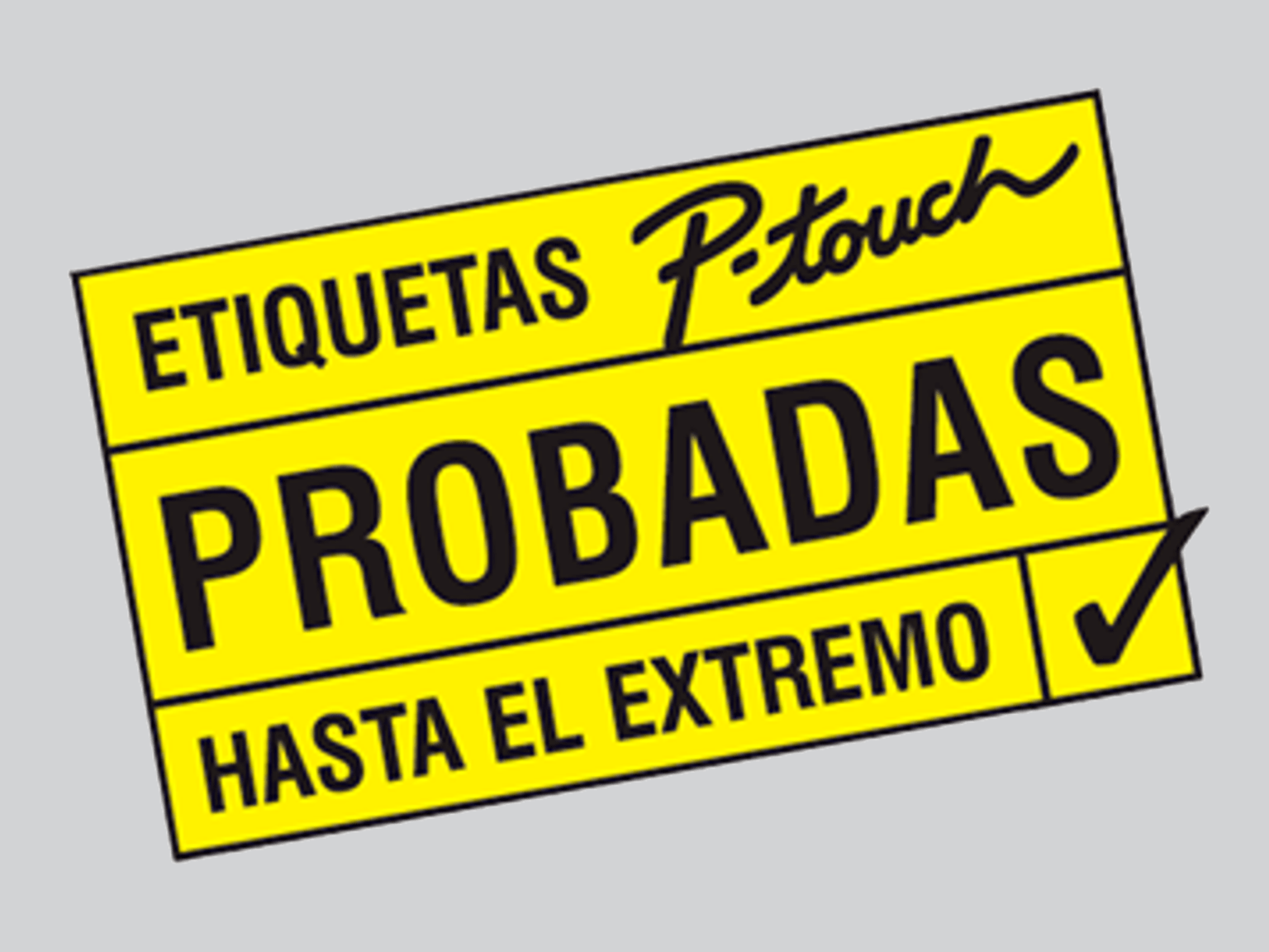 Etiquetas P-Touch
