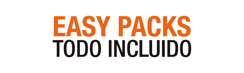 Easy Packs. Todo incluido