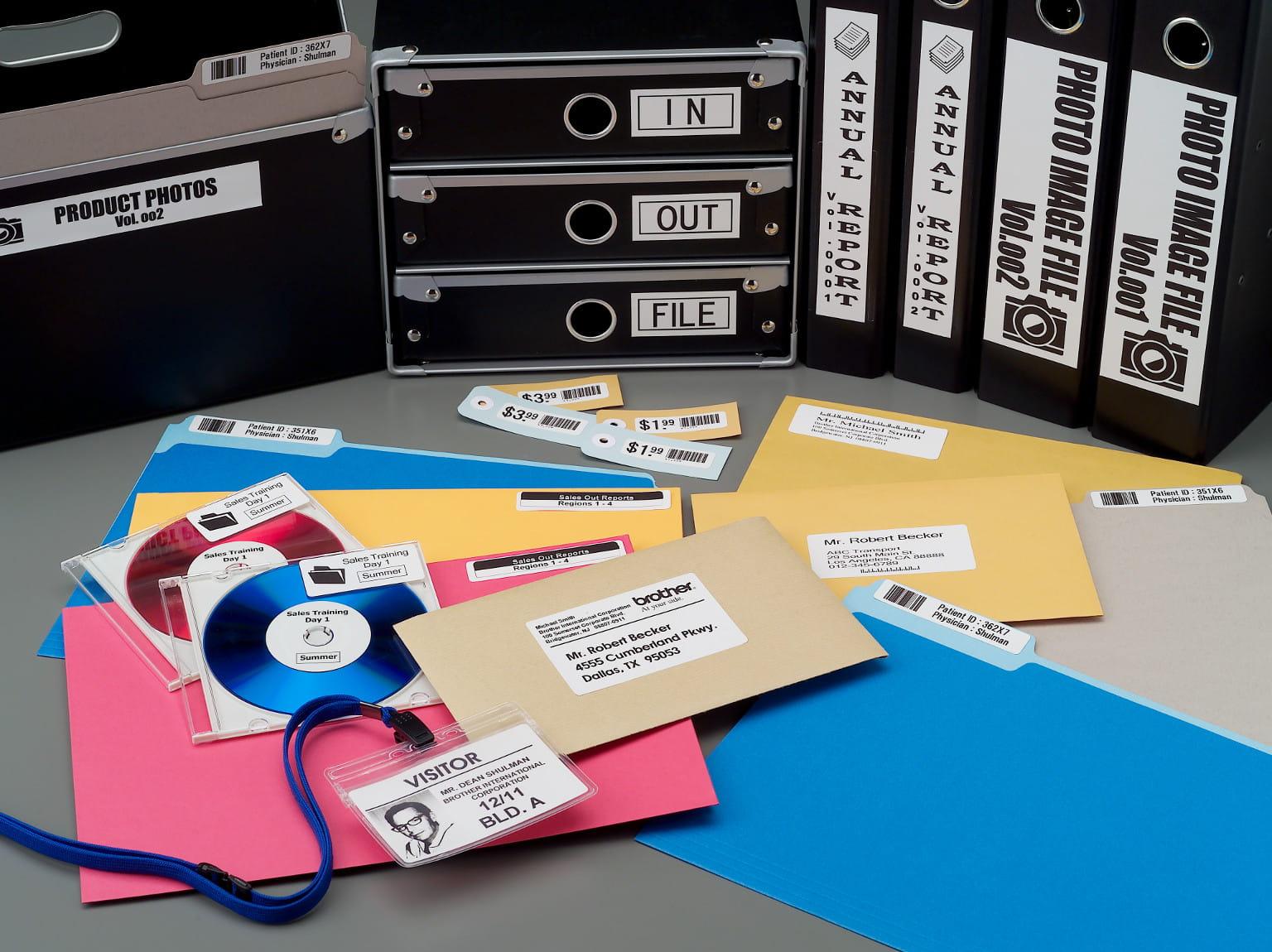 Aplicaciones impresoras de etiquetas Brother
