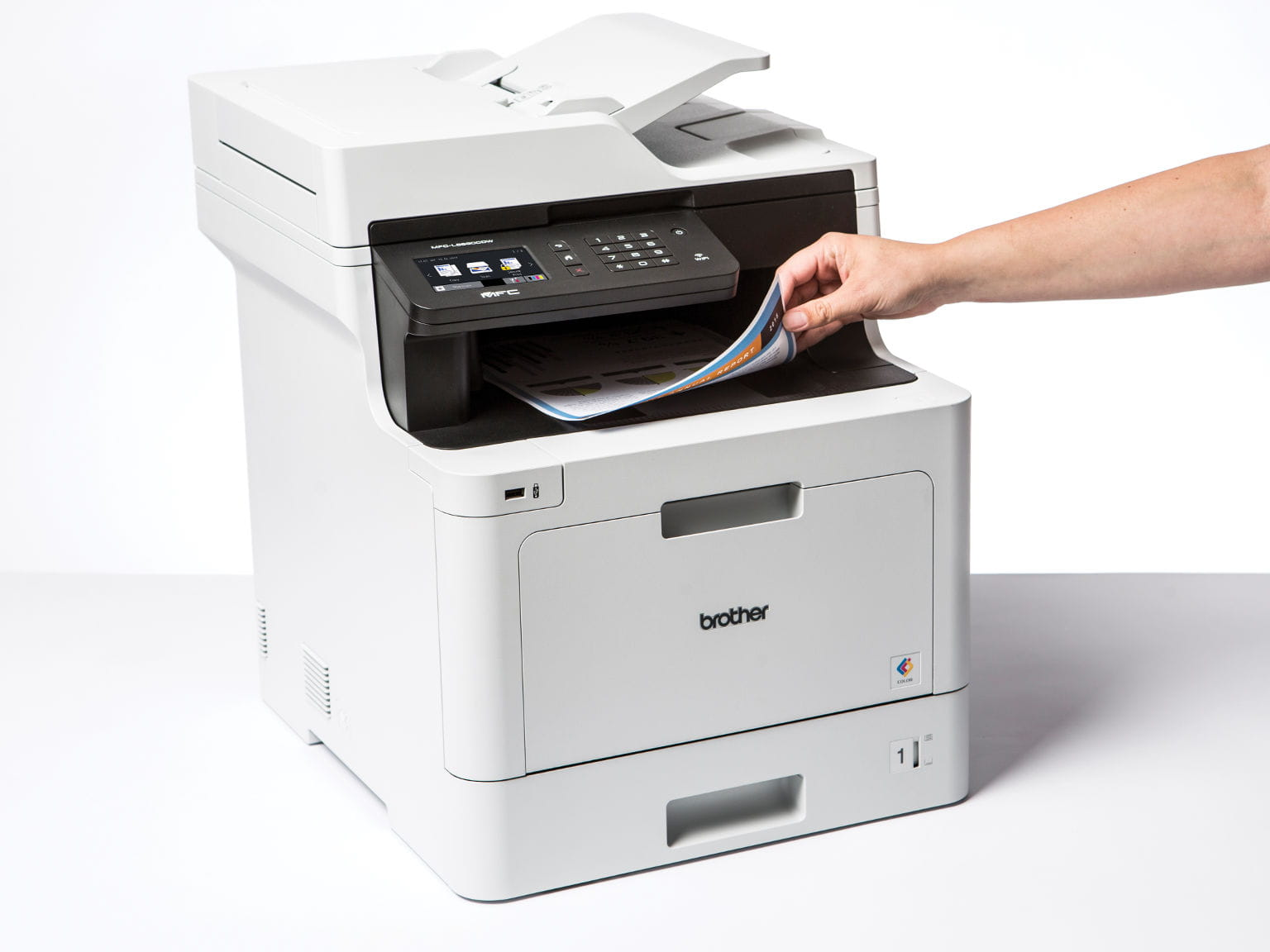 Impresora multifunción láser color MFC-L8690CDW, Brother