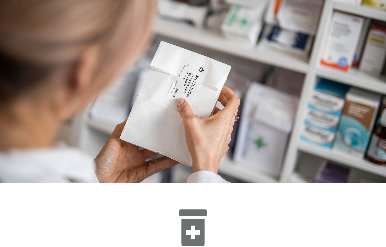 Soluciones de etiquetado Brother para farmacias