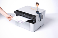 Impresora multifunción láser monocromo DCP-1610W All in Box