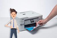 Impresora multifunción tinta DCP-J1100DW All in Box