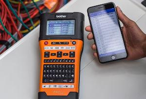 Rotuladoras PT-E para electricistas