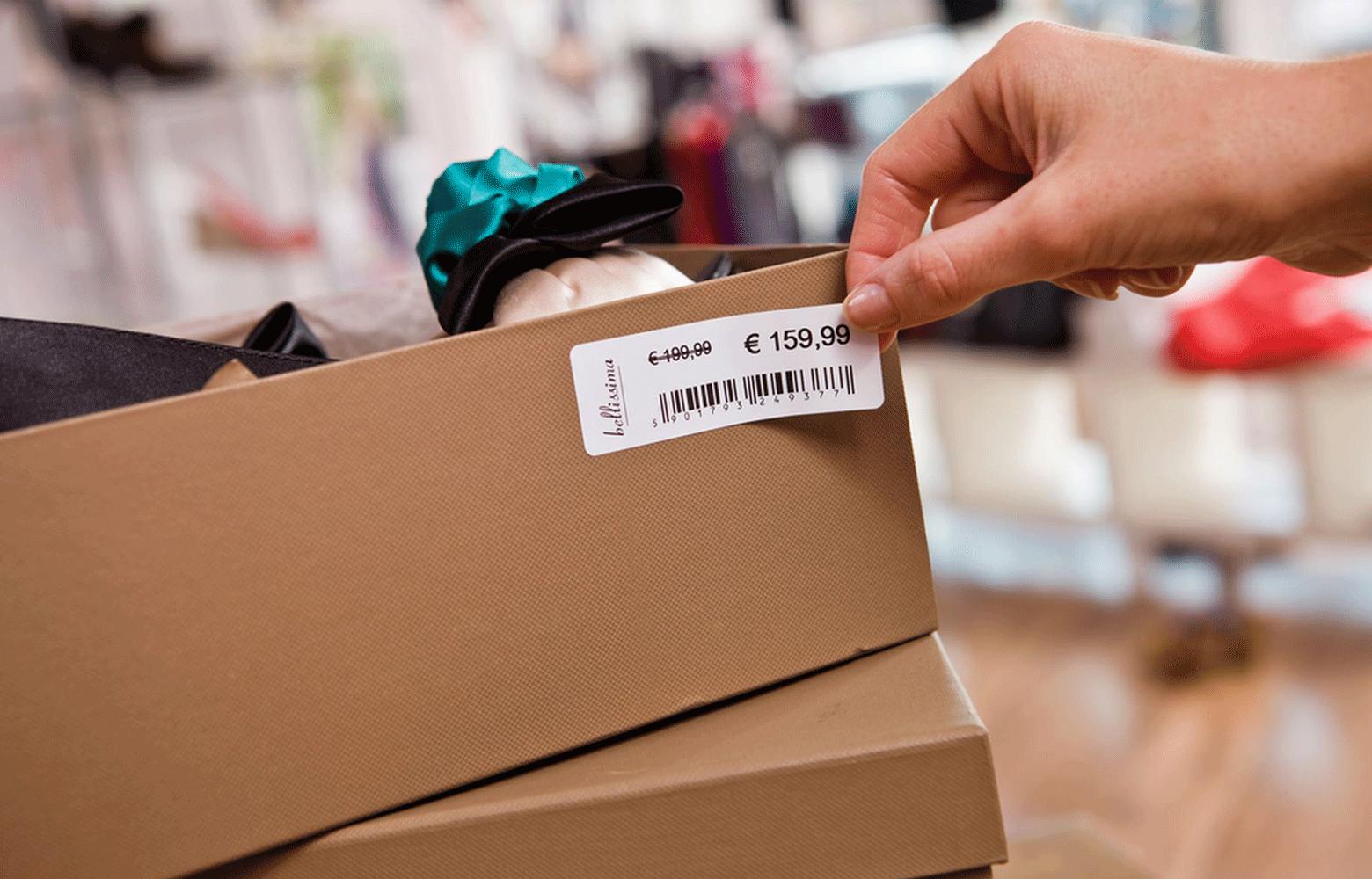 Impresora de etiquetas TD Brother para sector Retail