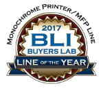 Monochrome printer / MFP Line. Line of the year 2017. BLI
