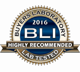 Buyers Laboratory 2016 BLI Highly Recommended Lab Tested