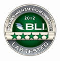 Environmental Perfomance Lab Tested BLI 2012