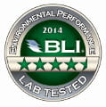 Environmental Perfomance Lab Tested BLI 2014