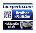 tuexperto.com Premio 2015 a la Multifunción del año MFC-J880DW Brother
