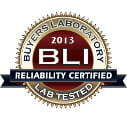 Reliability Certified BLI 2013