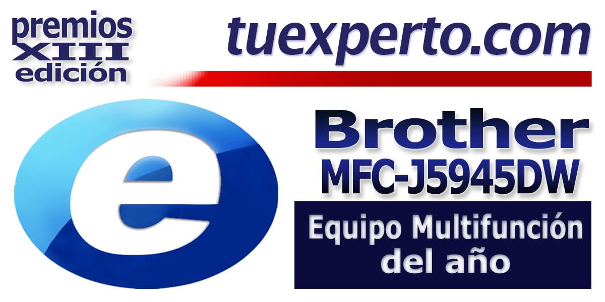 Equipo multifunción del año MFC-J5945DW Brother tuexperto.com
