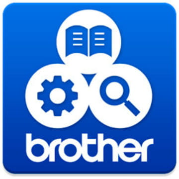logo Brother Support Center App