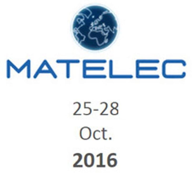 MATELEC. Del 25 al 28 de octubre de 2016