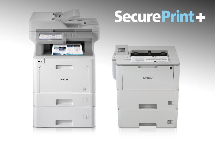 Impresoras con SecurePrint+