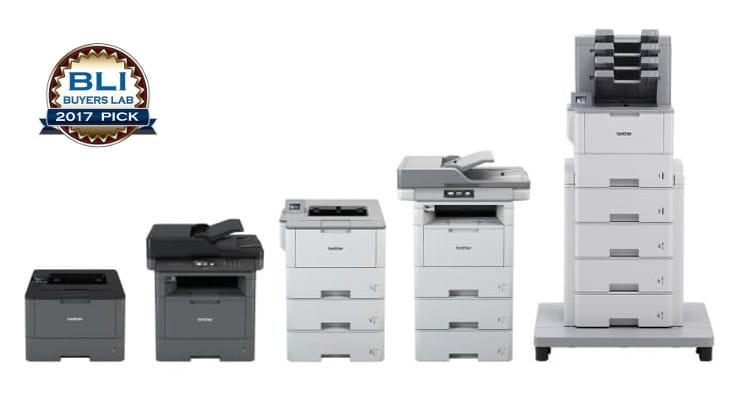 Impresoras láser monocromo L6000, Brother