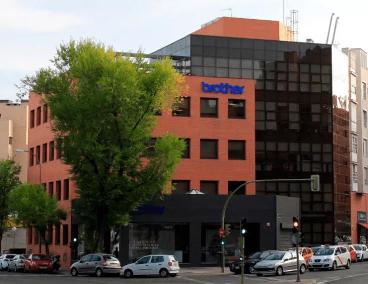 Fachada edificio Brother en Madrid