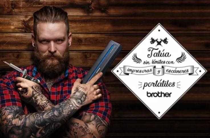 Impresoras portátiles Brother para tatuadores