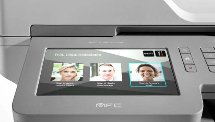 Pantalla personalizable impresora multifunción MFC Brother