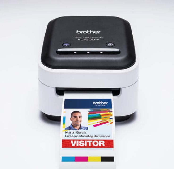 Impresora de etiquetas a color VC-500W