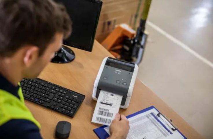 Impresoras de etiquetas QL Brother para sector transporte
