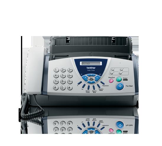 Fax de papel normal FAXT104