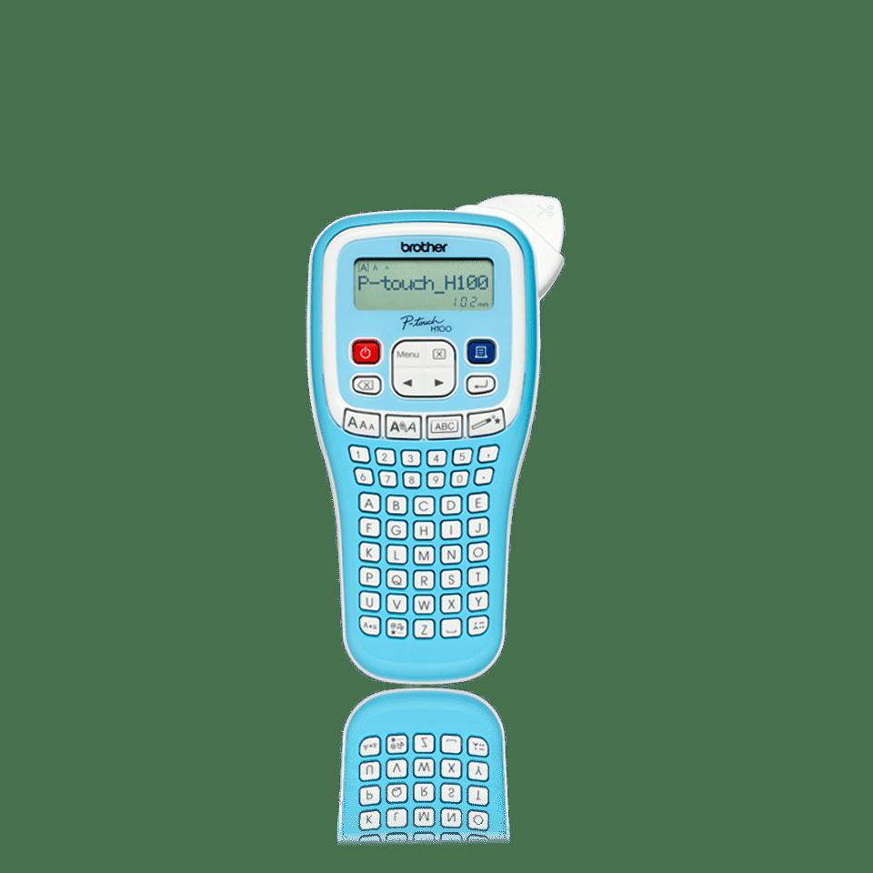 PTH100LB Rotuladora electrónica de mano azul