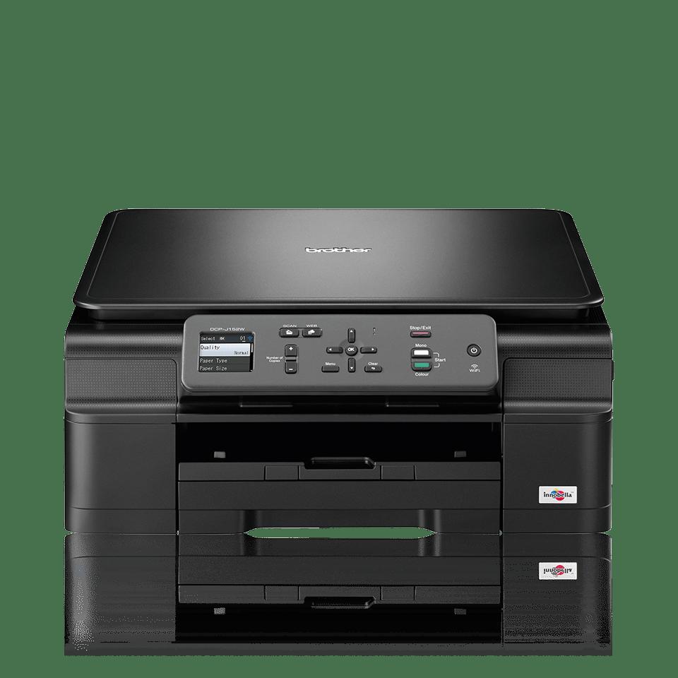 Impresora, copiadora y escáner de inyección de tinta A4 DCPJ152W