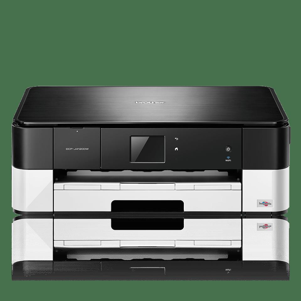 Impresora, copiadora y escáner de tinta profesional WiFi DCPJ4120DW