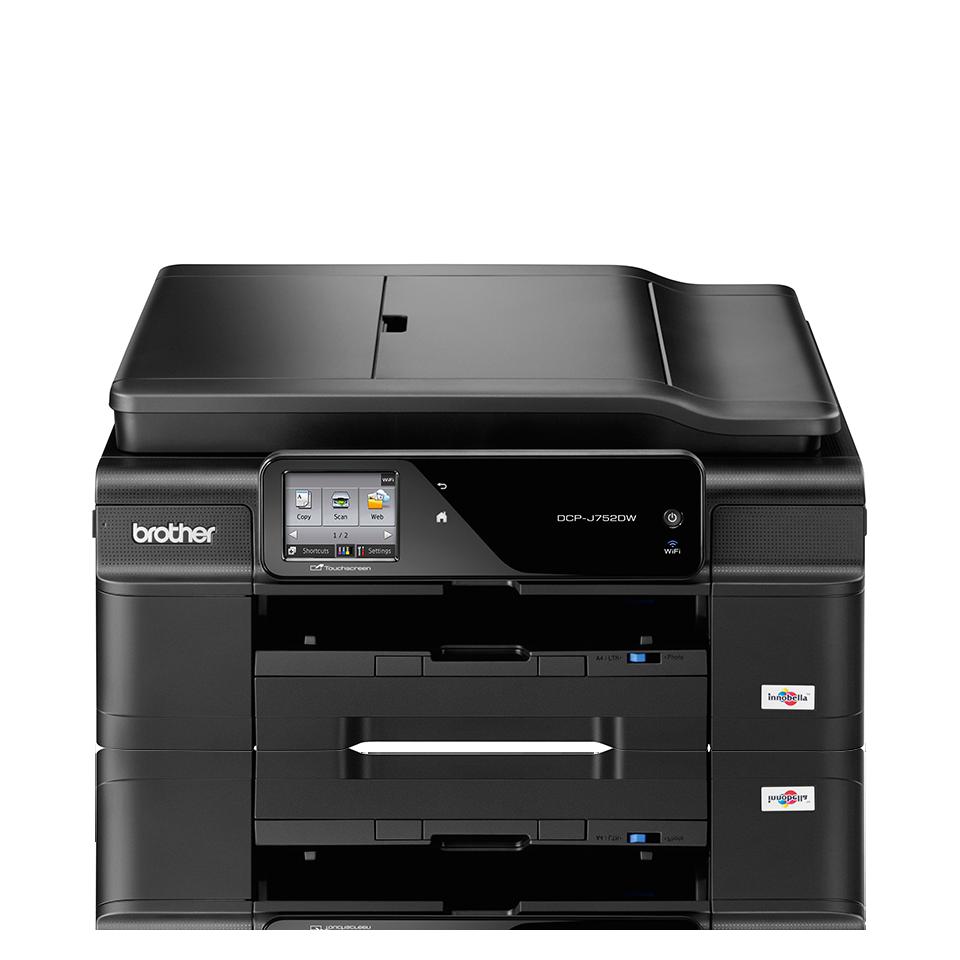Impresora multifunción de tinta A4 WiFi DCPJ752DW