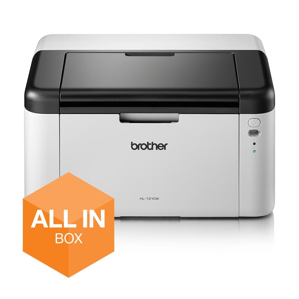 Impresora láser monocromo HL1210W, Brother